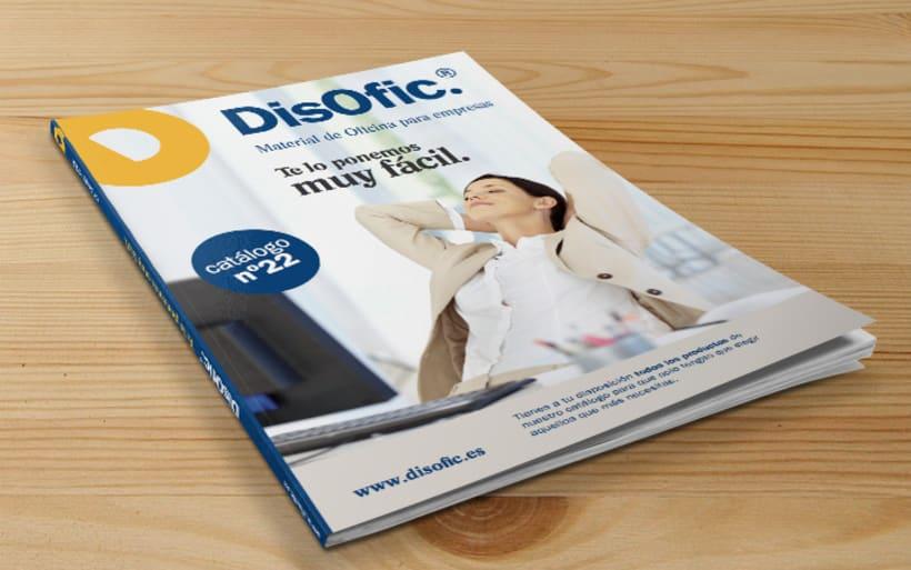 Catálogo General DisOfic 2012. Diseño Editorial. -1