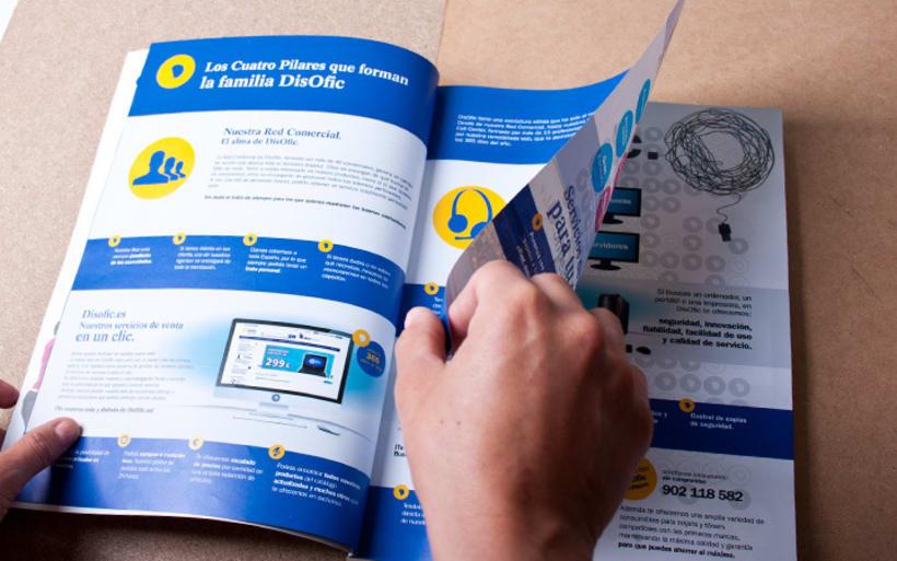 Catálogo General DisOfic 2012. Diseño Editorial. 2