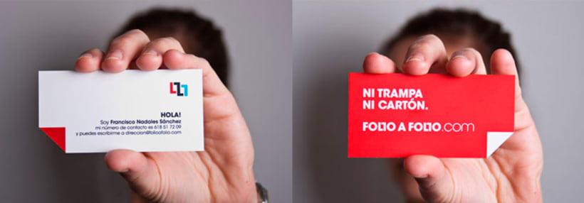 FOLIO A FOLIO. Sistema de Identidad. 6