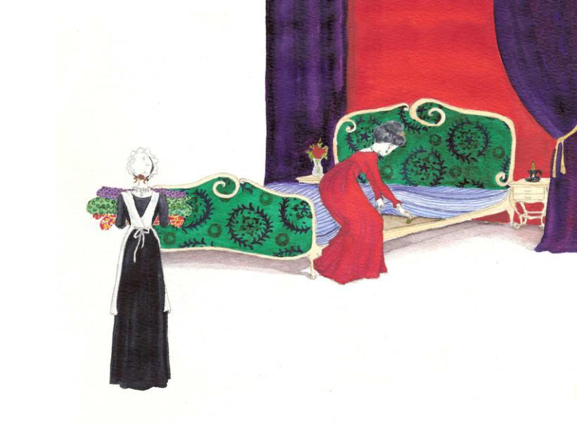 """Ilustraciones para versión de """"la princesa del gisante"""" 1"""
