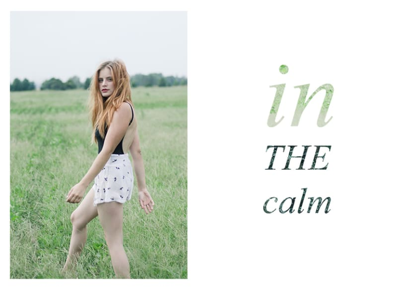 in the calm -1