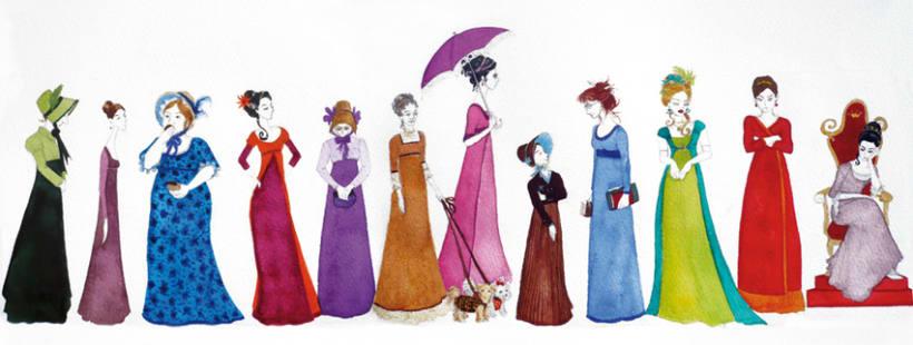 """Ilustraciones para versión de """"la princesa del gisante"""" 3"""