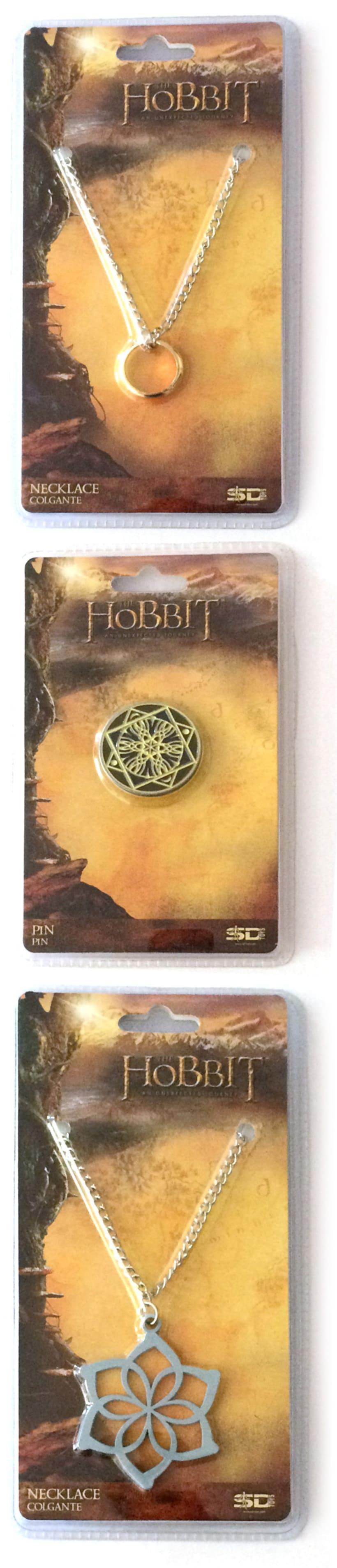 """Colgantes y broche """"El Hobbit""""  2"""