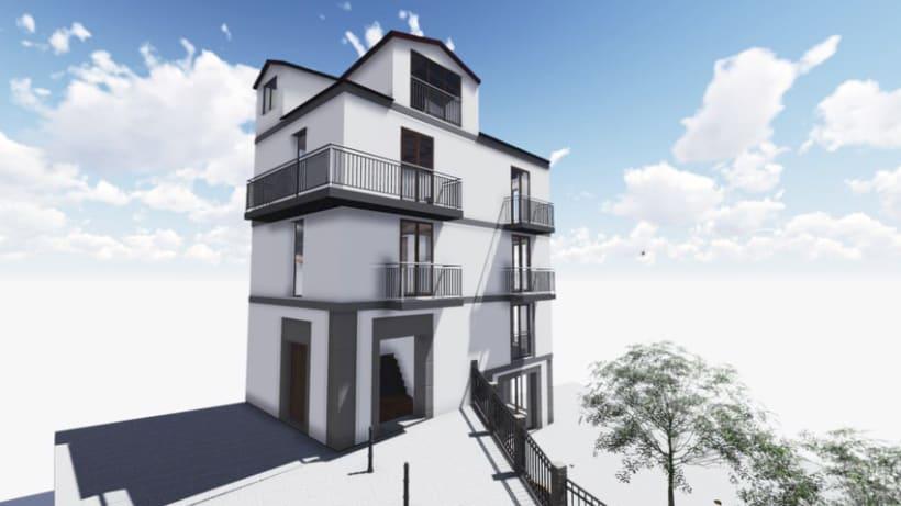 Rehabilitación de Edificio Residencial en Béjar 2