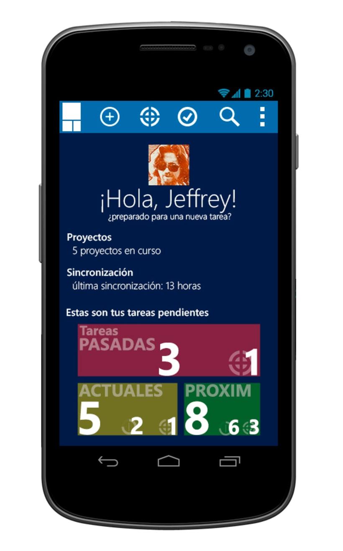 © aTareado aplicación de gestión de tareas para Android 1