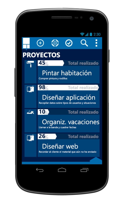 © aTareado aplicación de gestión de tareas para Android 6