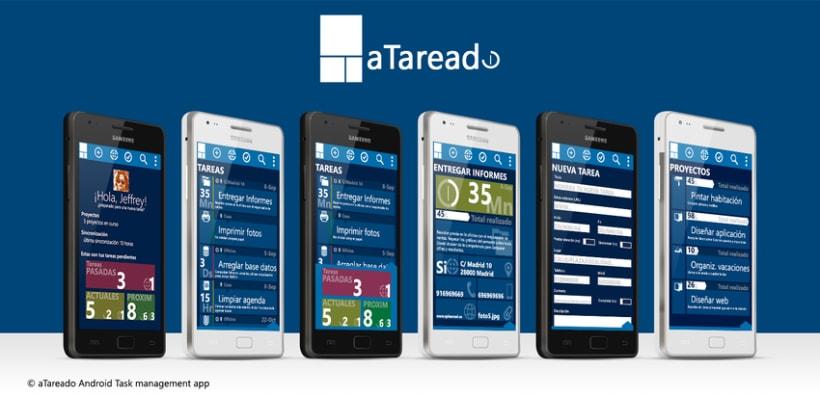 © aTareado aplicación de gestión de tareas para Android 0