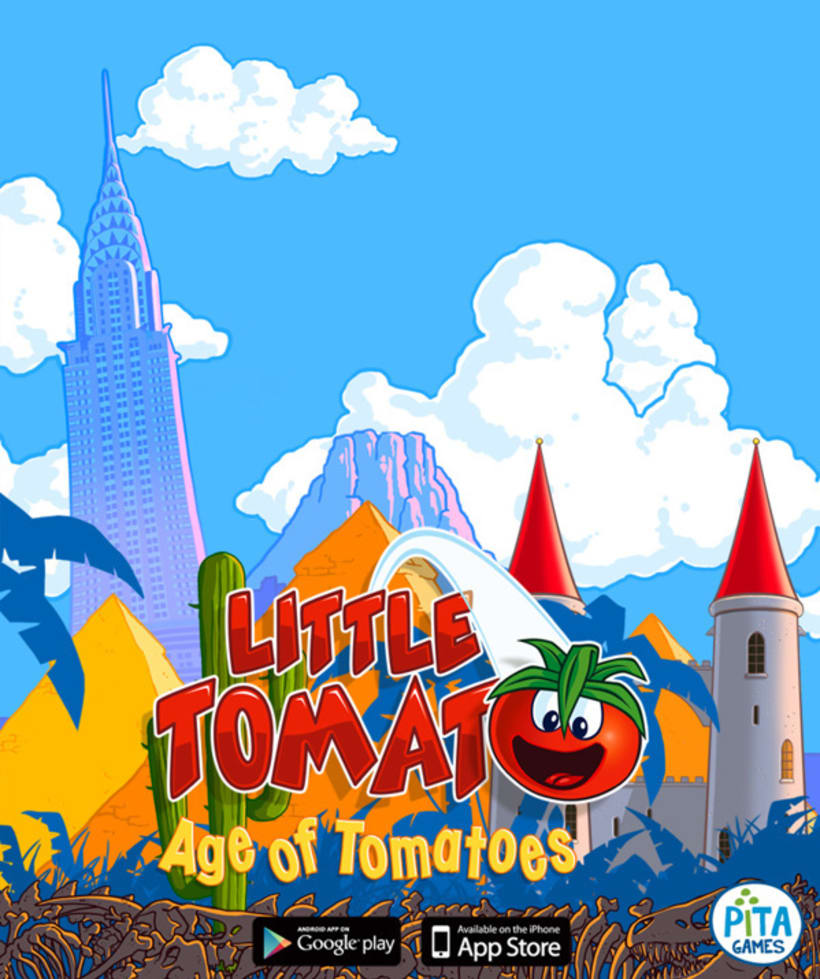Little Tomato, Age of Tomatoes, Android and iOS game 3