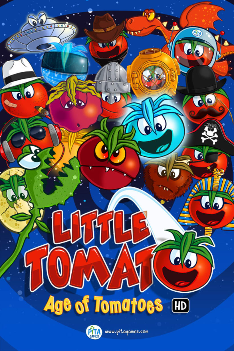 Little Tomato, Age of Tomatoes, Android and iOS game 4