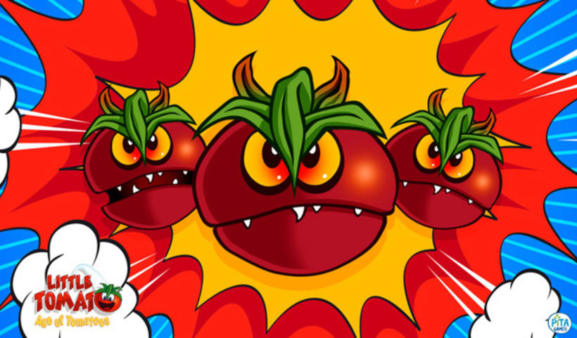 Little Tomato, Age of Tomatoes, Android and iOS game 5