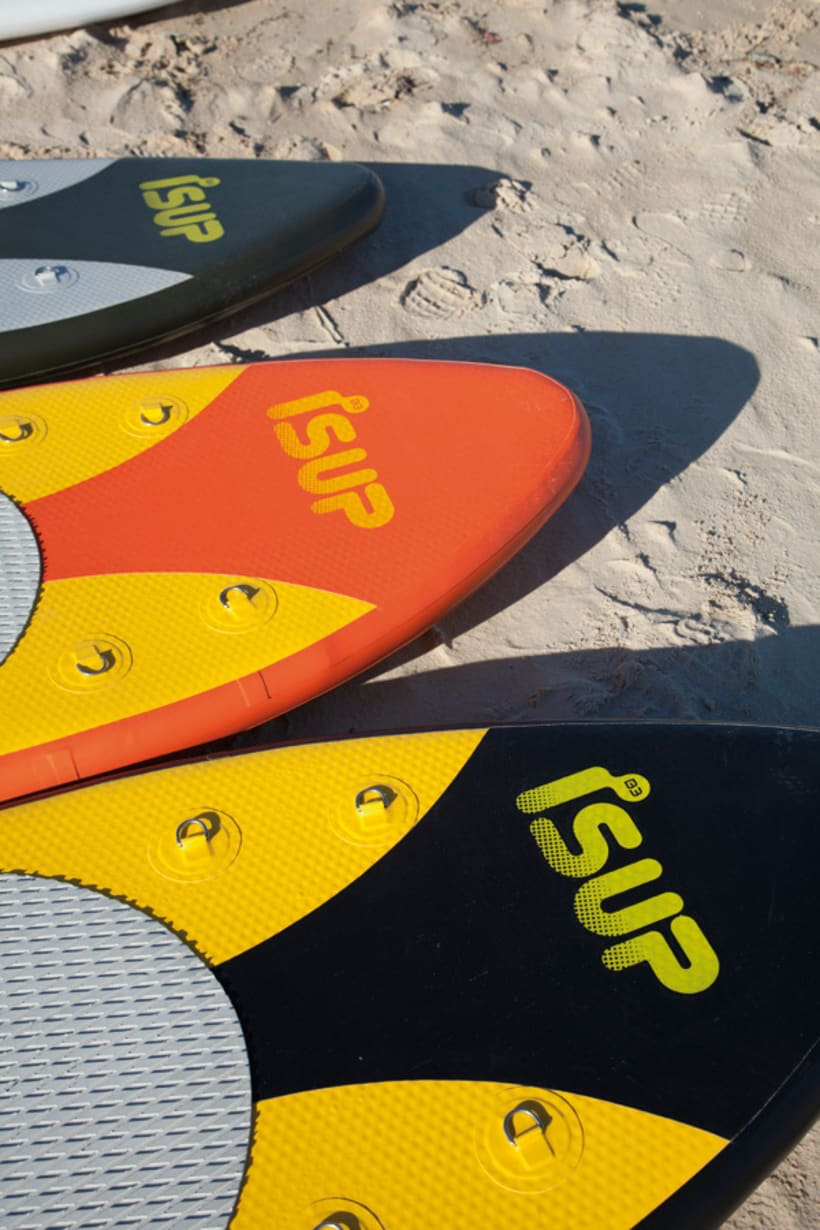 iSUP. Logo para Marca de Stand Up Paddle Surf 1