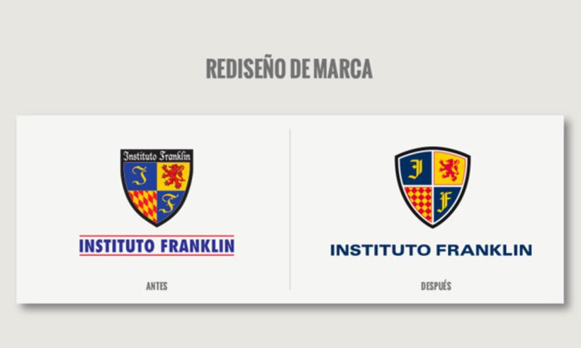 Instituto Franklin - Rebranding 0