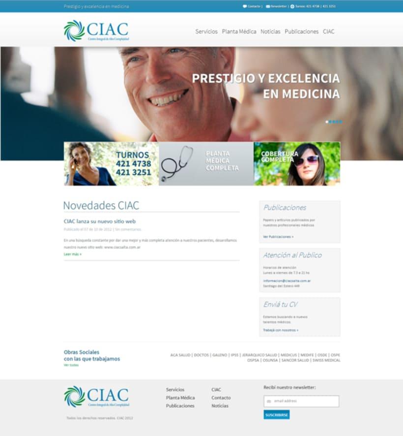 CIAC website 0
