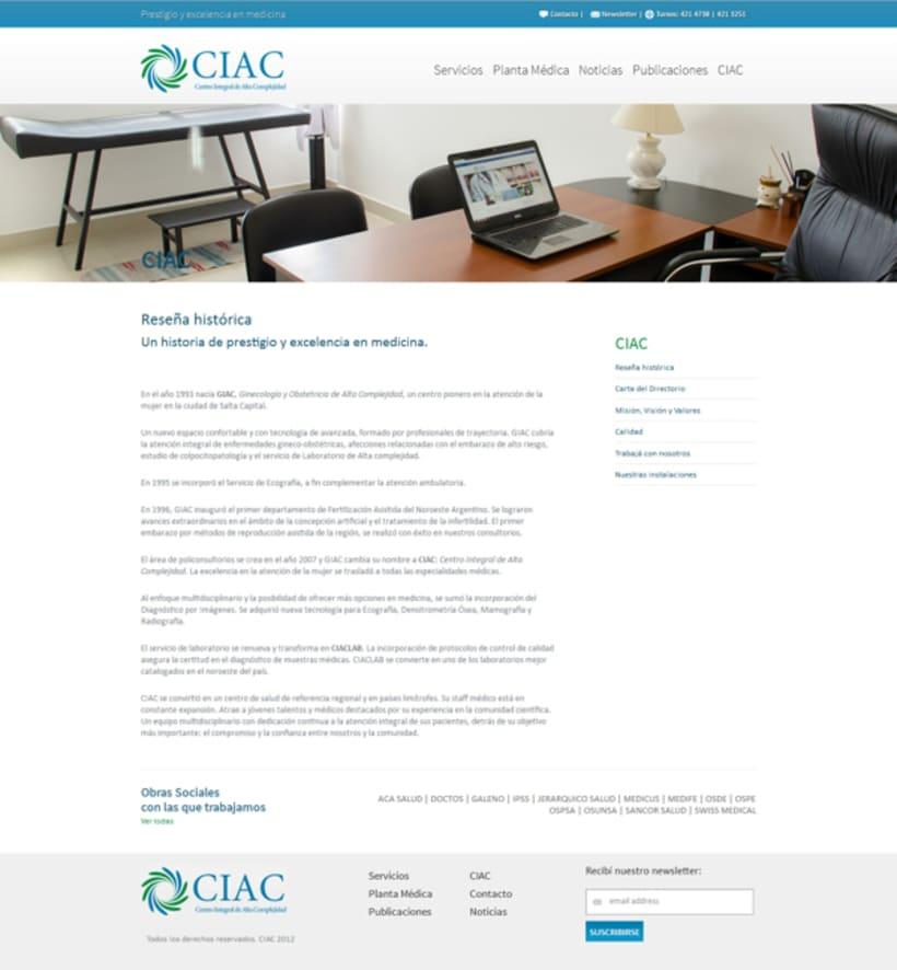 CIAC website 3