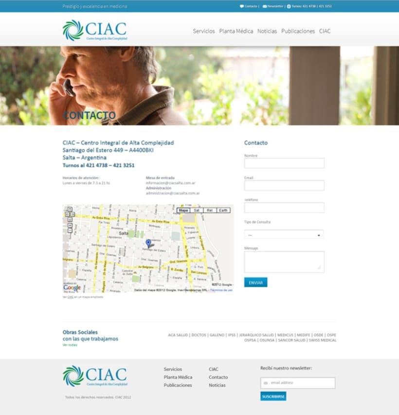 CIAC website 4