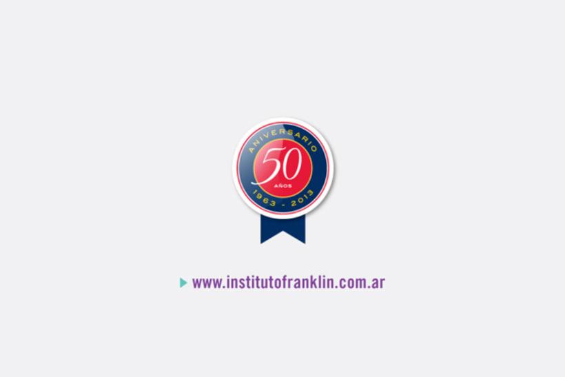 Campaña 50 años Instituto Franklin 7