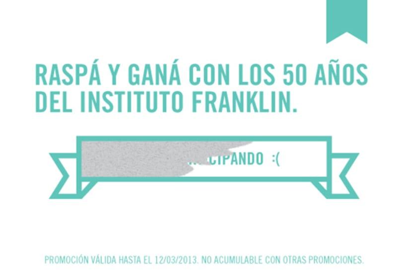 Campaña 50 años Instituto Franklin 10