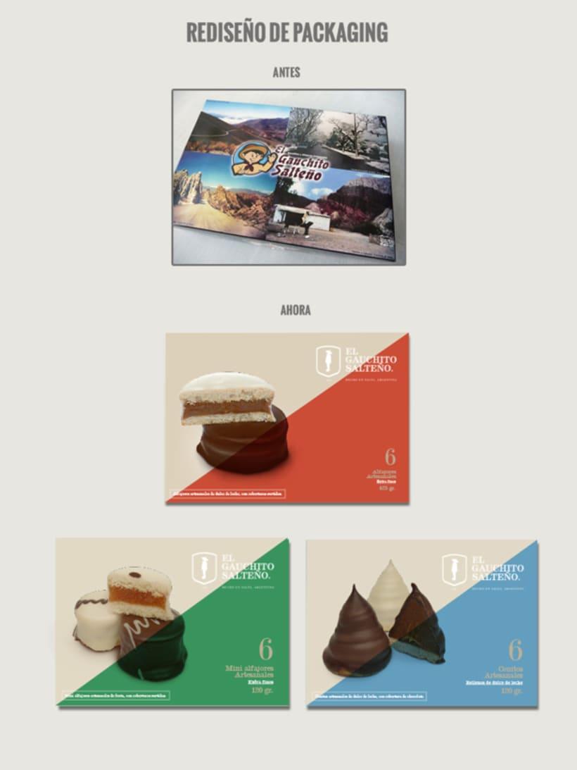 Rebranding + packaging El Gauchito Salteño 3