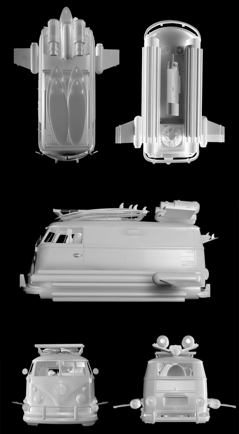 Volkswagen Space Kombi 3