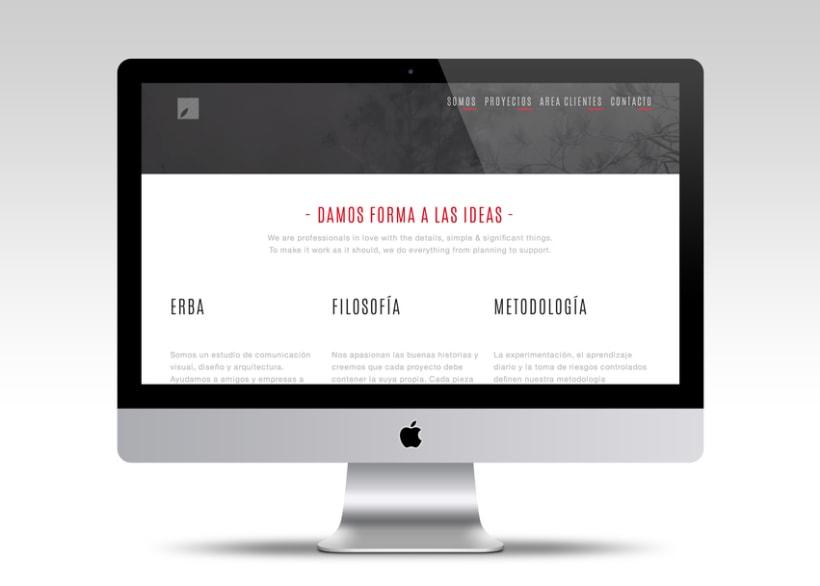 Diseño web | Erba -1
