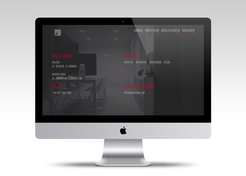 Diseño web | Erba 0