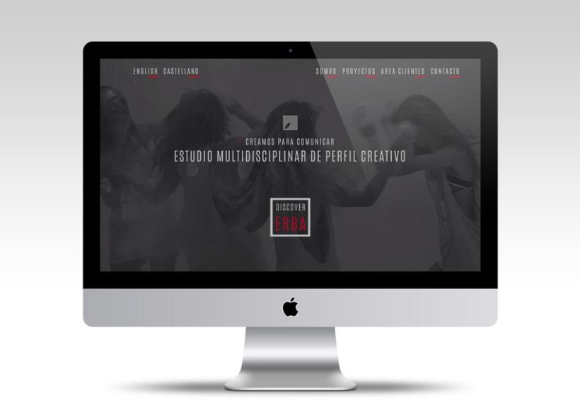 Diseño web | Erba 1