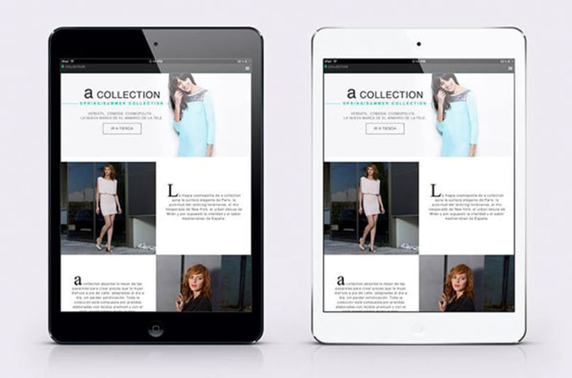 Microsite A-collection  0
