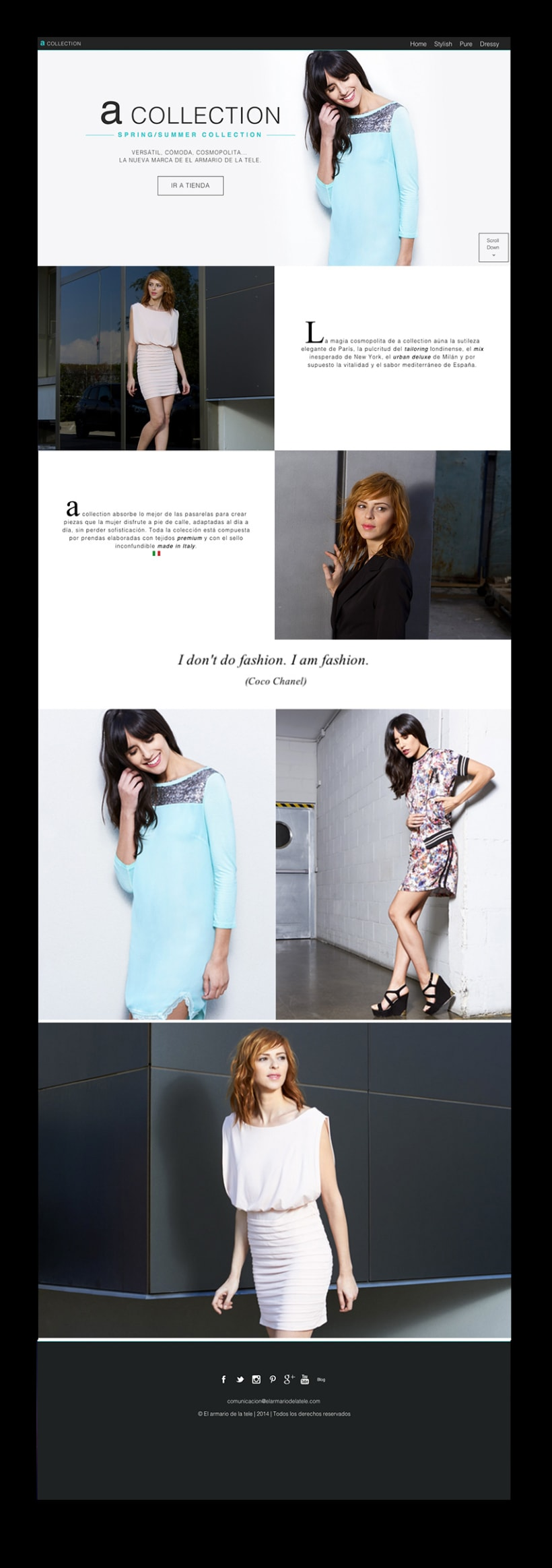 Microsite A-collection  4