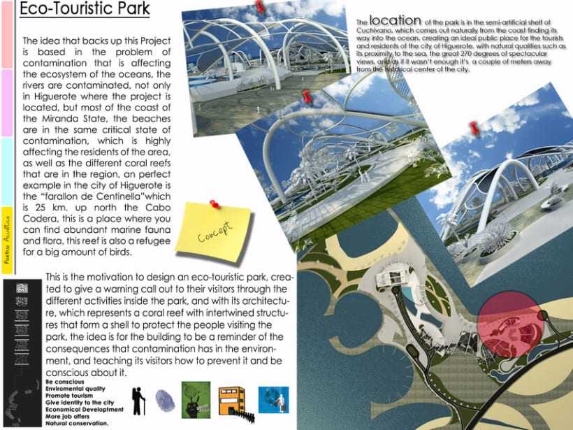 Eco-Touristic Park - Architecture -1