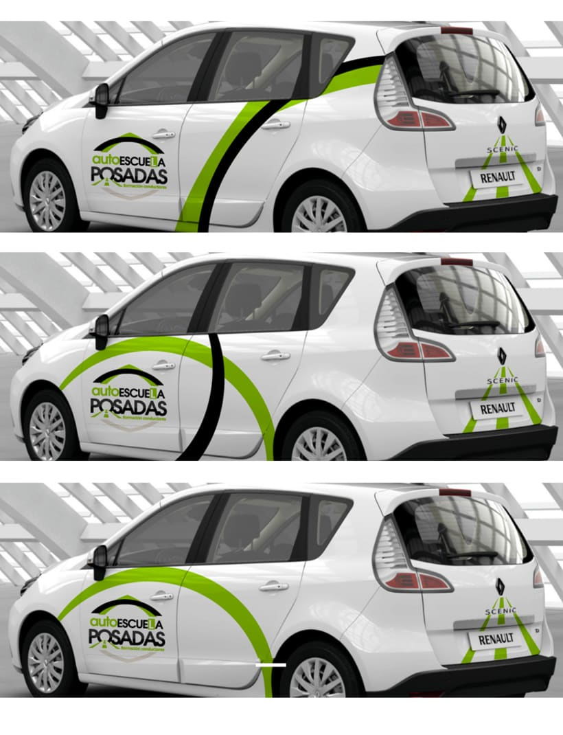 Logotipo Autoescuela Posadas 2