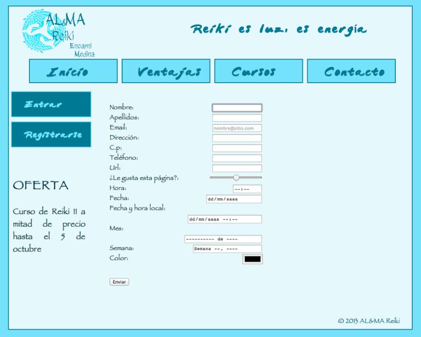 "Web Mobile ""Al&Ma Reiki "" 1"