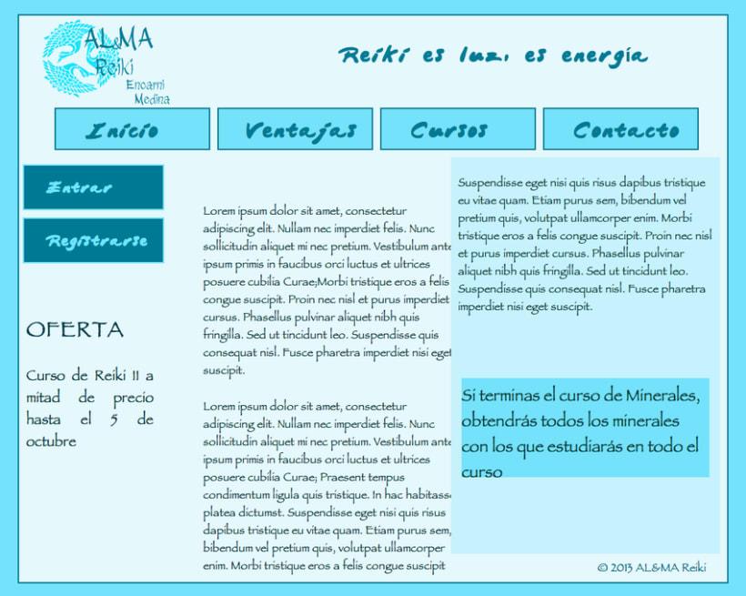 "Web Mobile ""Al&Ma Reiki "" 0"