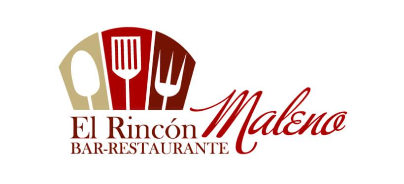 Logotipo Bar Restaurante Rincón Maleno -1
