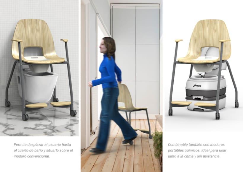 Stilla, silla inodoro para hogar 20