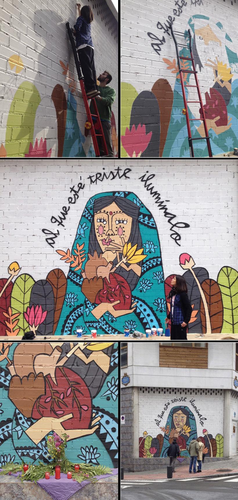 Mural calle Cortes con Laguna 1