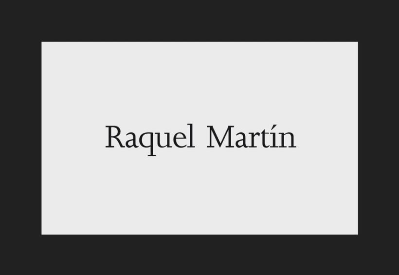 Raquel Martín 1