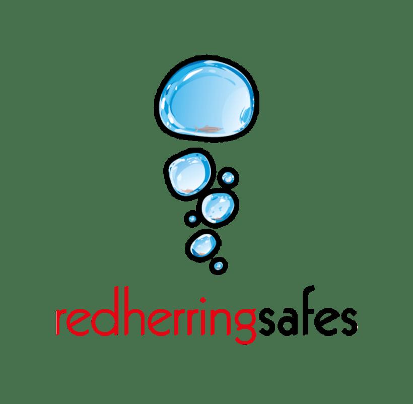 Red hering Safes, propuestas de logotipos 1