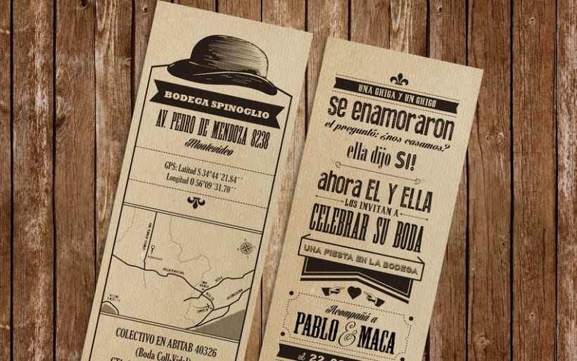 wedding invite :: maca & pablo 1