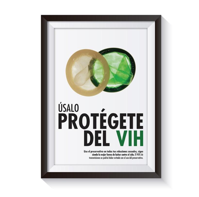 CARTELERÍA PARA LA PREVENCIÓN DEL VIH 2