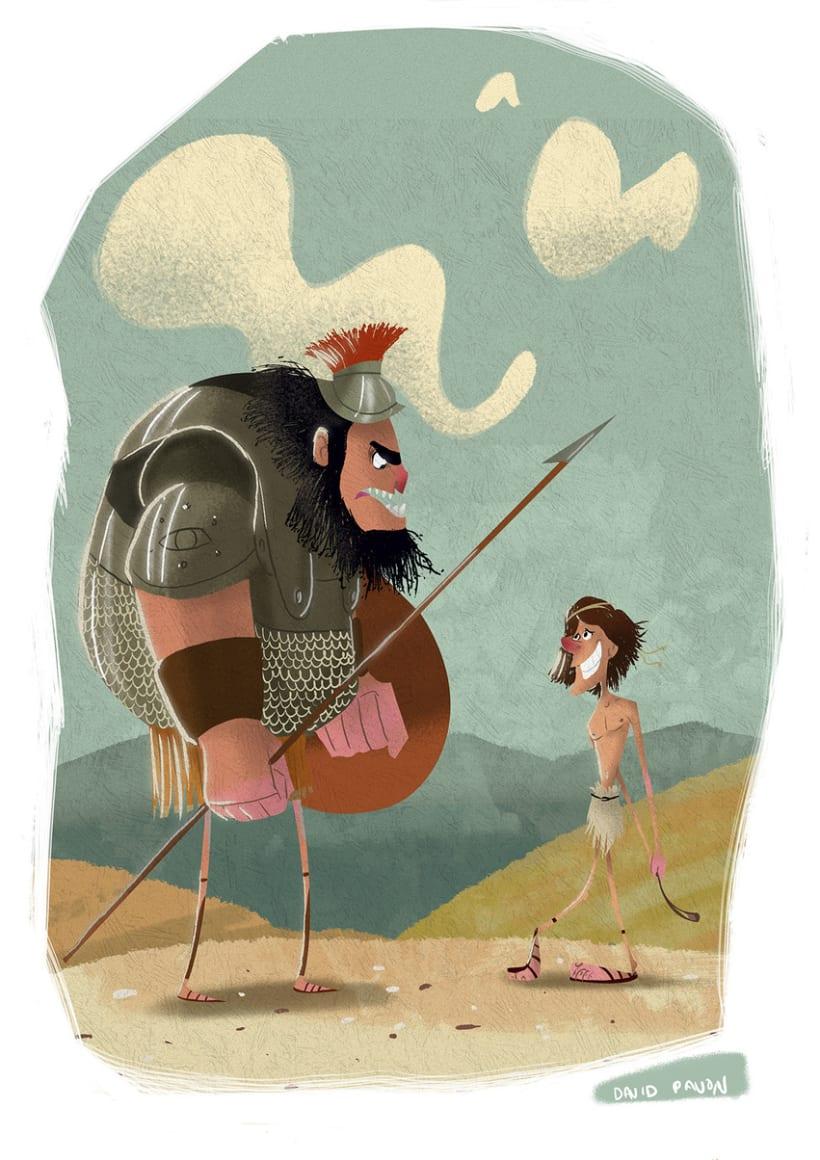 David y Goliath -1