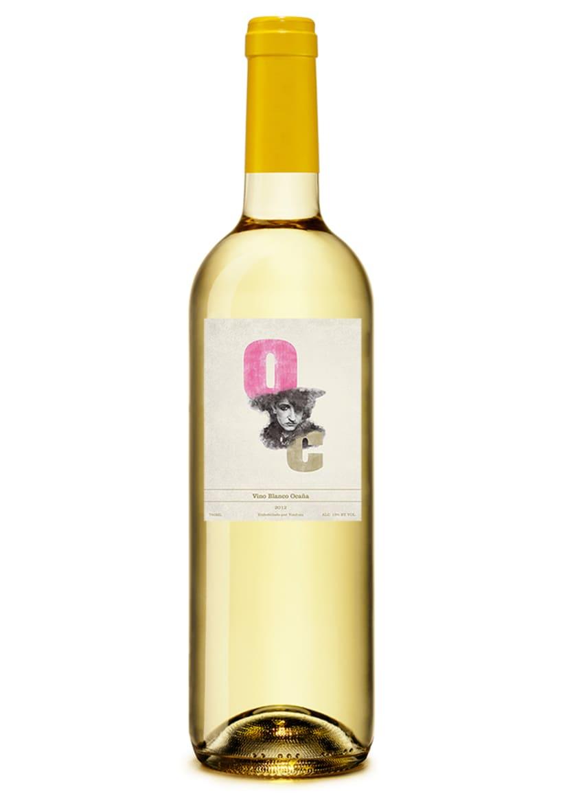 Ocaña Wine label 1