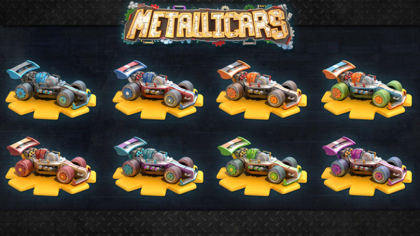 Metallicars iOs & Android Game 1