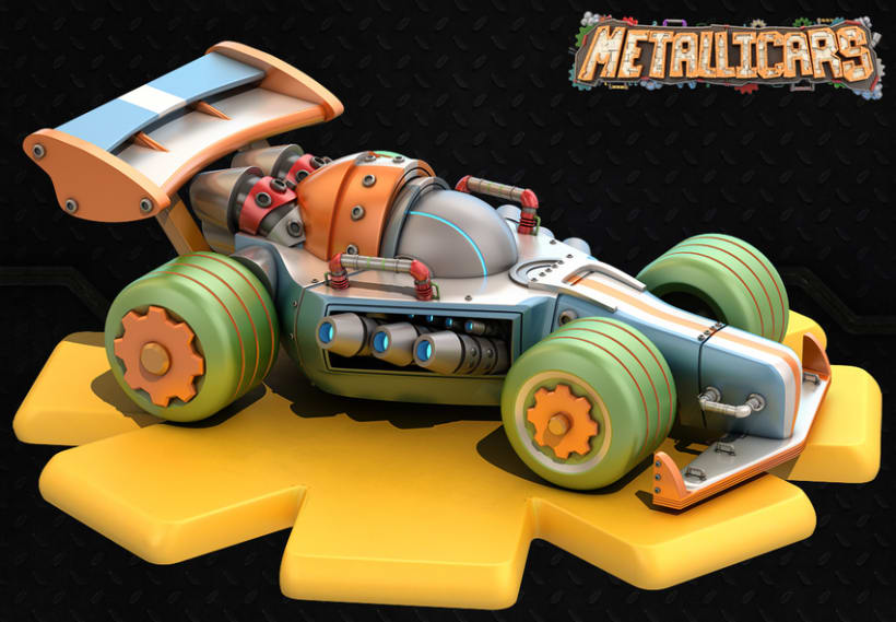 Metallicars iOs & Android Game 6