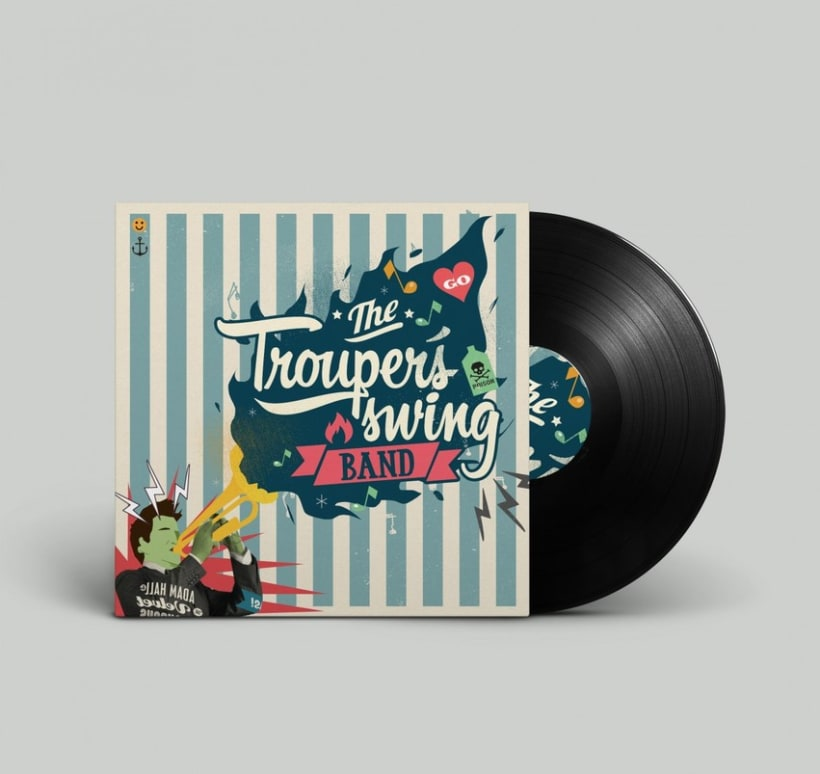 The trouper´s swing band 1