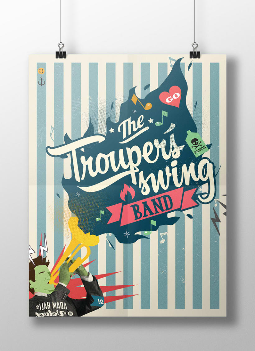 The trouper´s swing band 2