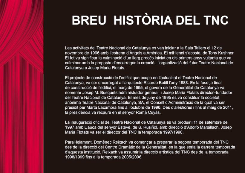 Edició promocional llibret aniversari institucio cultural TNC 7