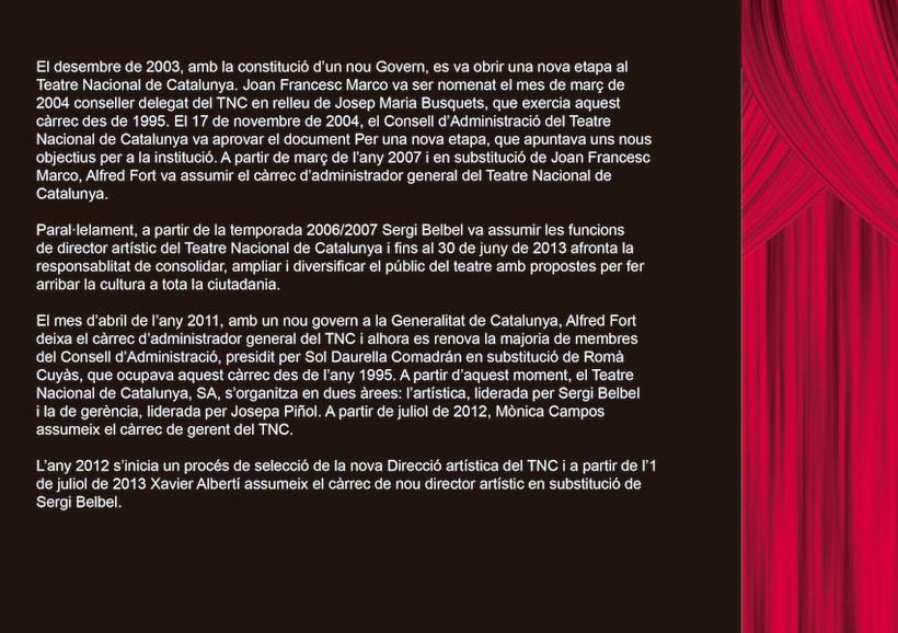 Edició promocional llibret aniversari institucio cultural TNC 8