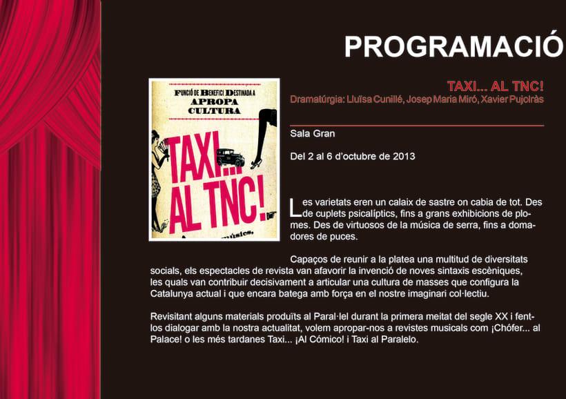 Edició promocional llibret aniversari institucio cultural TNC 9