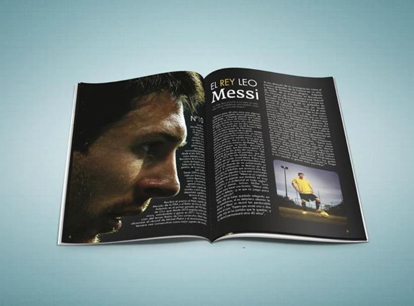 """La redonda"" Editorial Design 0"