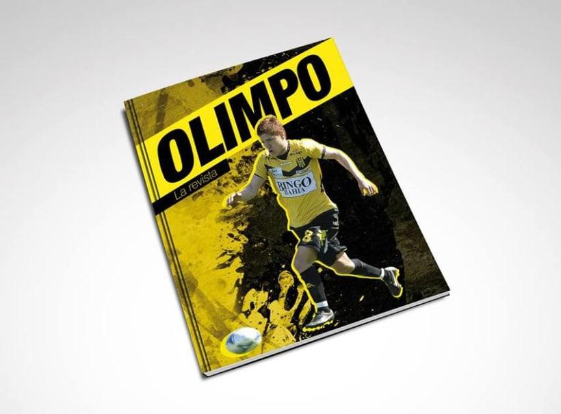 """Editorial Design """"Olimpo"""" for Club Olimpo de Bahía Blanca  -1"""